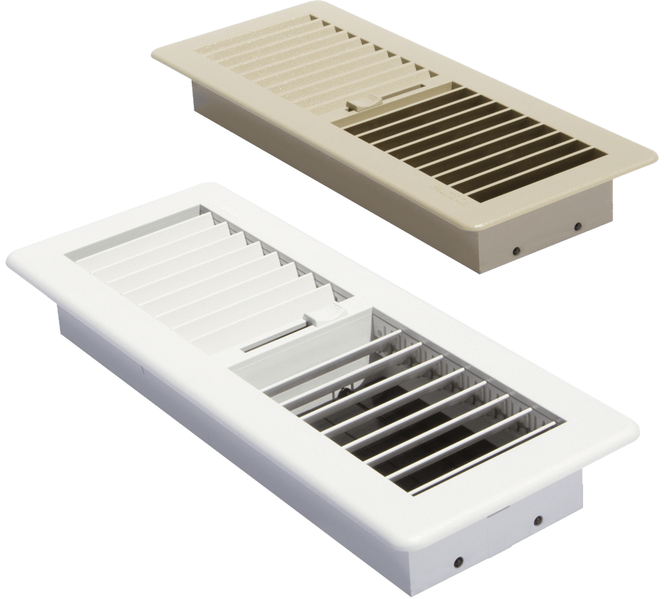 Paltech heating and cooling duct fittings grilles and for Floor registers